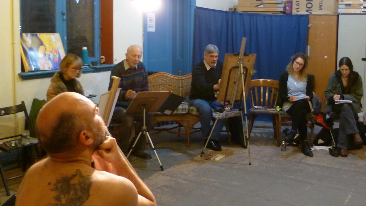B Alive Art Life Drawing   The Rising Sun Arts Centre
